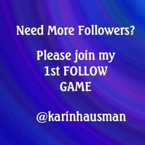 MY 1st FOLLOW GAME!